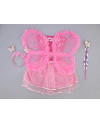 adar Stroik strój motylek skrzydełka + spódnica
