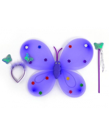 adar Skrzydelka motylka ze światłem