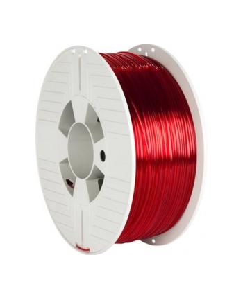 Filament VERBATIM / PETG / Red Transparent / 1,75 mm / 1 kg