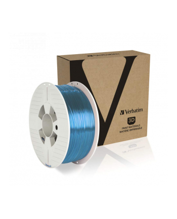 Filament VERBATIM / PETG / Blue Transparent / 1,75 mm / 1 kg