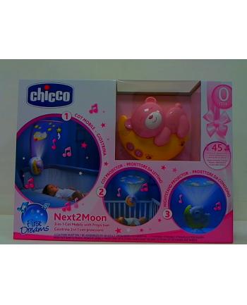Chicco Panel na łóżeczko Next2Moon Różowy