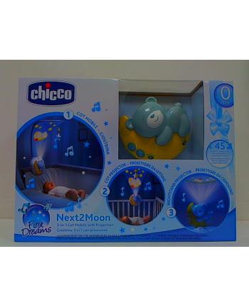 Chicco Panel na łóżeczko Next2Moon Niebieski