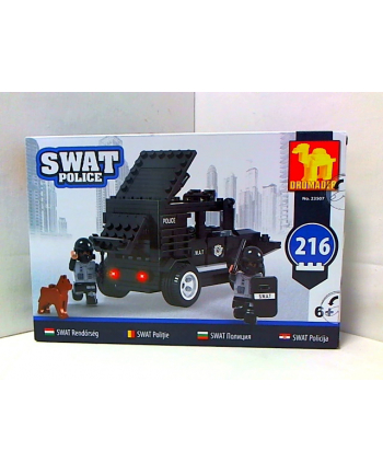 dromader-klocki Klocki SWAT Samochód 23507 35071