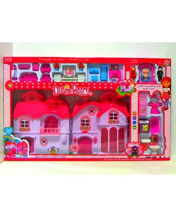 gazelo Domek dla lalek z akcesoriami G057484