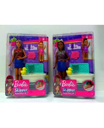 mattel Barbie Skipper opiekunka zestaw+lala FHY97/4