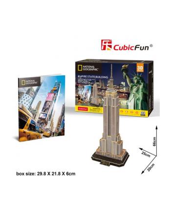 dante Puzzle 3D 66el Empire State Building. National Geografic DS0977