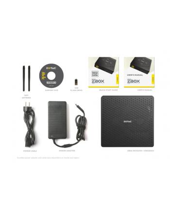 ZOTAC ZBOX EN72070V-BE, RTX2070, i7-9750H, 2xDDR4 SODIMM, M2 SSD, 2.5'' SATA III
