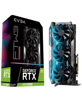 EVGA GeForce RTX 2070 SUPER FTW3 ULTRA GAMING, 8GB GDDR6, DP, HDMI