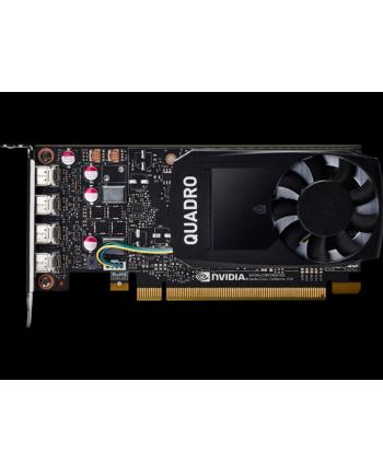hp NVIDIA Quadro P1000 4GB 4x mDP Kit w/2 Adapters mDP to DP