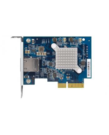 Qnap Dual-port BASET 10GbE network expansion card; low-profile form factor; PCIe