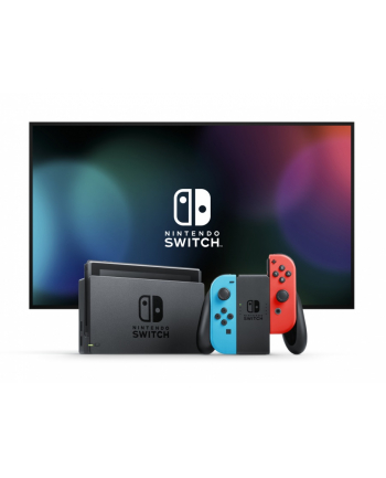 Nintendo Switch Console Neon Red & Blue Joy-Con (2019)