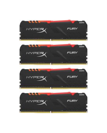 Kingston HyperX 64GB 3000MHz Fury RGB CL15 (4x16GB)