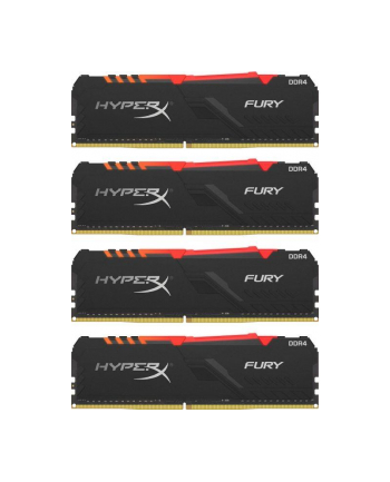 Kingston HyperX 32GB 3466MHz Fury RGB CL16  4x8GB