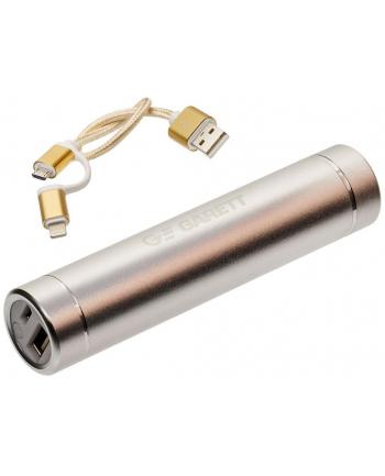 Powerbank Garett Power 2 srebrny