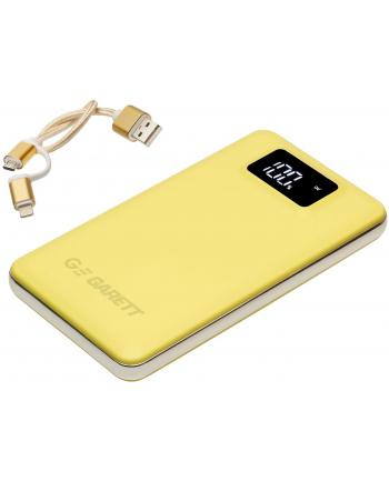 Powerbank Garett Power 10 żółty