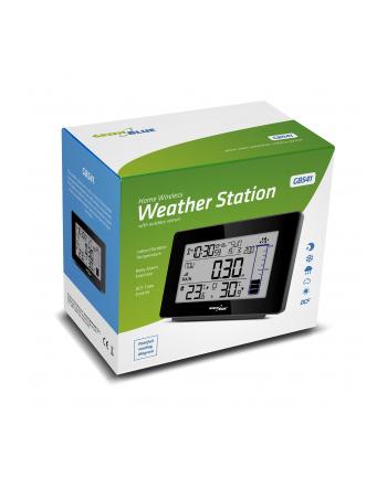 GreenBlue GB541 Stacja pogody bezprzewodowa z systemem DCF ilość opadów deszczu