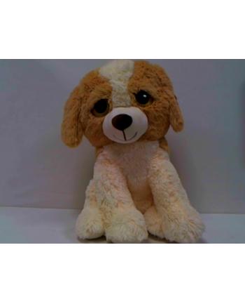 anek - smile Brązowy pluszowy pies Smily SP82980 29803