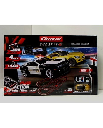 CARRERA GO!!! tor Police Chase 10,4m 20066011