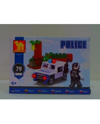 dromader-klocki Klocki Policja 23313 33138