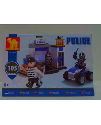 dromader-klocki Klocki Policja 23424 34241