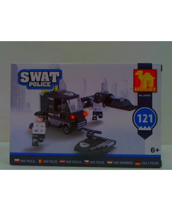 dromader-klocki Klocki SWAT 23425 34258