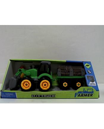 madej Traktor z przyczepą do skręcania 001563 49195