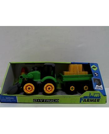 madej Traktor z przyczepą do skręcania 001564 49201