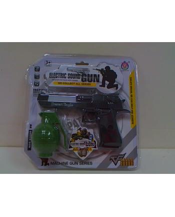 maksik Pistolet + granat n/b zestaw GUN0669 30669