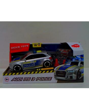 simba Dickie SOS Audi RS3 policja 371-3011