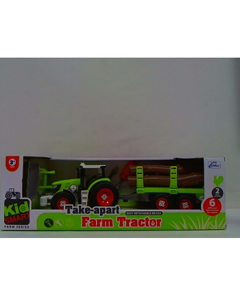 swede Traktor z przyczepą skręcany Q4825 53893
