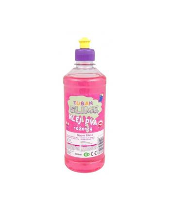 tuban Klej do papieru PVA 500 ml różowy