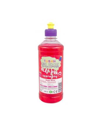 tuban Klej do papieru PVA 500 ml czerwony