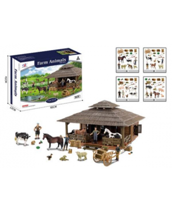 askato Farma ze zwierzątkami 60x41x13cm 108759