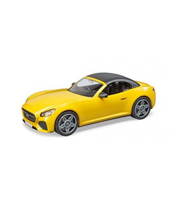 Auto Roadster żółte z wyjmowanym dachem BRUDER