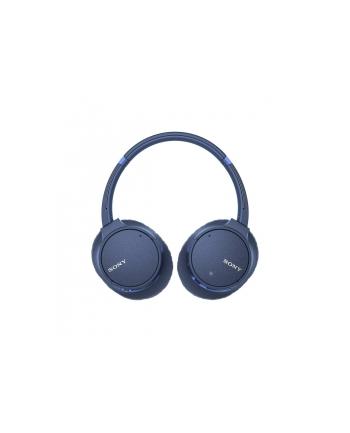 sony Słuchawki nauszne bezprzewodowe WH-CH700N niebieski