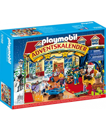 PLAYMOBIL 70188 Advent Calendar ''Christmas in the toy business,'' construction toys