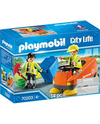 PLAYMOBIL 70203 sweeper, construction toys