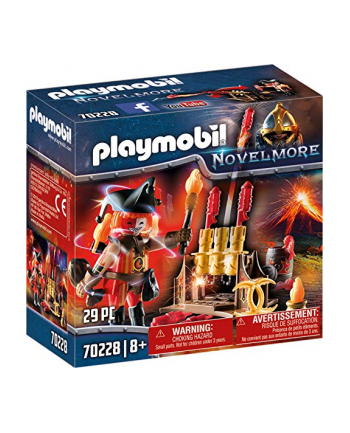 PLAYMOBIL 70,228 fireworks cannon and fire master, construction toys