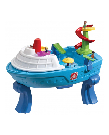 Step 2 Fiesta Cruise sand and water table, garden play equipment(blue)