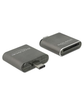 DeLOCK Card Reader -USB Type C SDHC / SDXC - Single Slot Card Reader