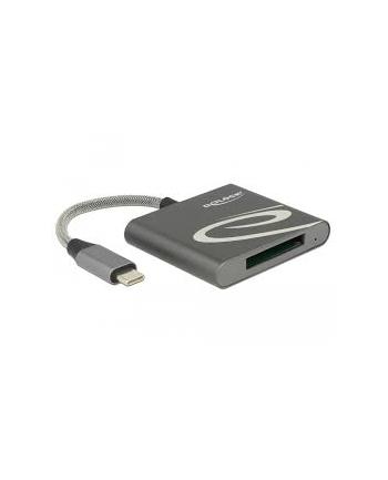 Delock USB-C Card Reader f. XQD 2.0 - memory cards