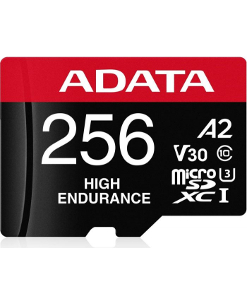 ADATA microSD 256GB High End UHS-I U3  + Adapter