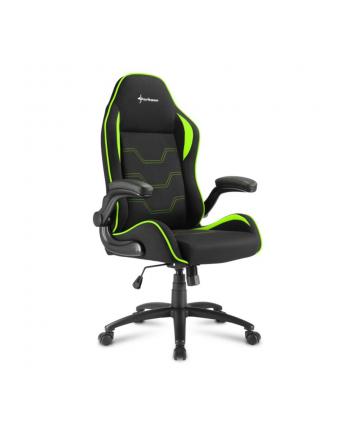Sharkoon Elbrus 1 Gaming Seat black/green