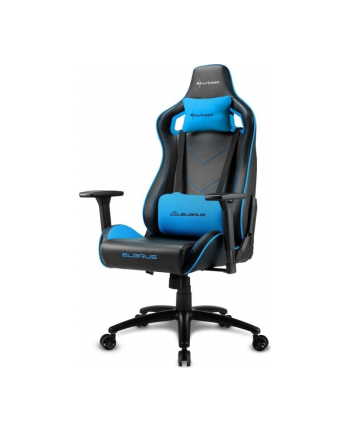 Sharkoon Elbrus 2 Gaming Seat black/blue
