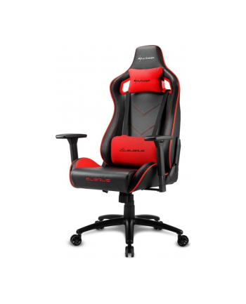Sharkoon Elbrus 2 Gaming Seat black/red