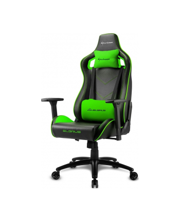 Sharkoon Elbrus 2 Gaming Seat black/green