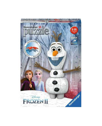 ravensburger Puzzle 3D 54el Olaf Frozen 2 111572