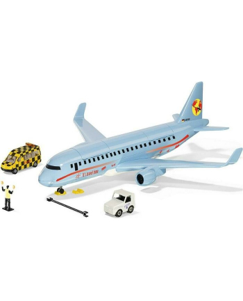 SIKU WORLD airliner toy vehicle (light blue, with accessories)