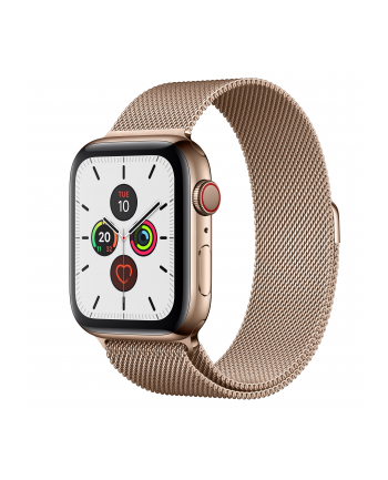 Apple Watch S5 Edelst.Mil 44mm gold - Milanaise Gold MWWJ2FD / A