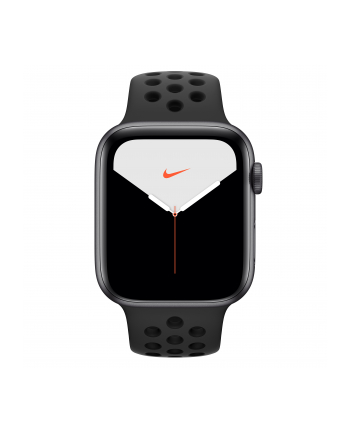Apple Watch Nike + S5 44mm grey - Sports Wristband anthracite / black MX3F2FD / A
